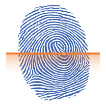 Biometrie - Scan Fingerabdruck